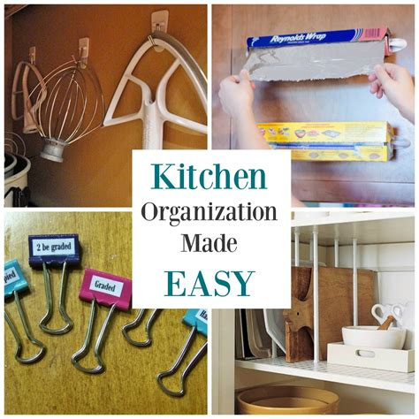 kitchen organization hacks kitchen organization doesn t to be with these 5 2358