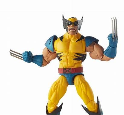 Action Marvel Legends Hasbro Figure Transparent Series