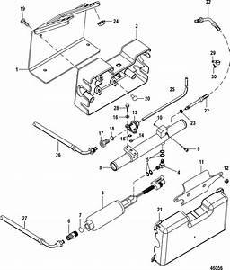 Fuel Pump And Fuel Cooler For Mercruiser 4 3l Mpi Alpha