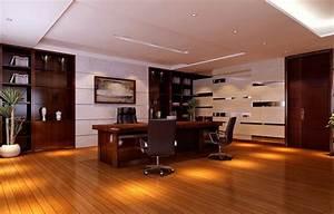 modern ceo office interior design - slightly reflective