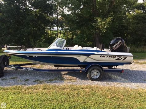 Nitro Z7 Bass Boat by 2015 Used Nitro Z7 Sport Bass Boat For Sale 28 400