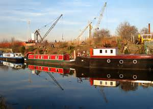 Houseboat Yorkshire by Houseboats Reflected In The Sheffield 169 Steve Fareham