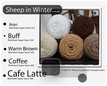 Yarn Crochet Colors Blanket Heart Combinations Schemes
