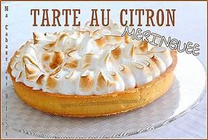 Recette Tarte Citron Meringuée Facile : tarte au citron facile recettes faciles recettes rapides de djouza ~ Nature-et-papiers.com Idées de Décoration