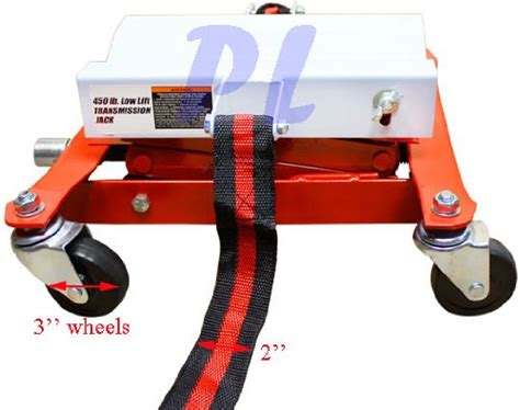 450 Lb. Capacity Differential Transmission Jack Low