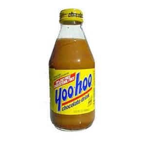 Yoo Hoo Chocolate Drink Soda 9 oz. bottles 24 pack