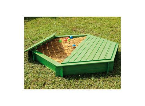 bac 224 en bois hexagonal jardipolys couvercle jardideco