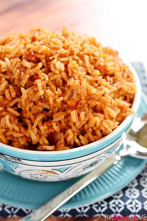 the best easy spanish rice video fivehearthome