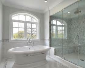 bathroom glass shower ideas 27 pictures of bathroom glass tile accent ideas