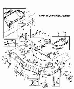 35 John Deere 48c Mower Deck Parts Diagram