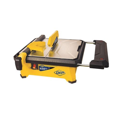Menards 4 Tile Saw by Qep 3 4 Hp Tile Saw With 7 In Blade 22650q