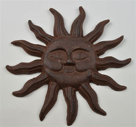 """Decorative Cast Metal Sun Face Wall Hanging 8"""" Tall Home. Rooms To Go Loveseat Sleeper. Finding Nemo Room Decor. African Decorative Items. Decorative Shoe Rack. Barbie Living Room Set. Decor Stores. Available Rooms Near Me. Japanese Room Screen"""