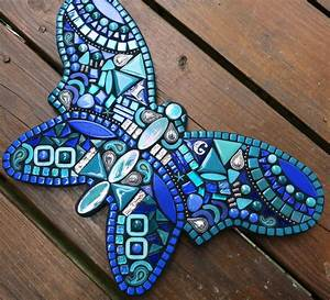Newest custom butterfly by Tina @ Wise Crackin' Mosaics ...