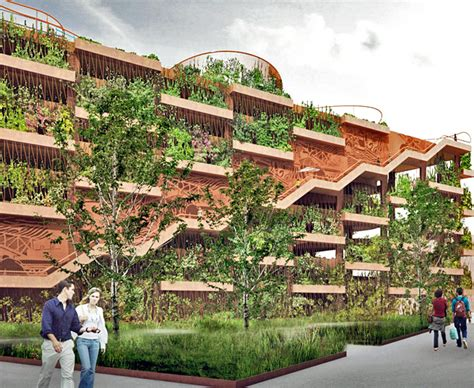 Jaja Architects Reinvent The Parking Garage As A Green