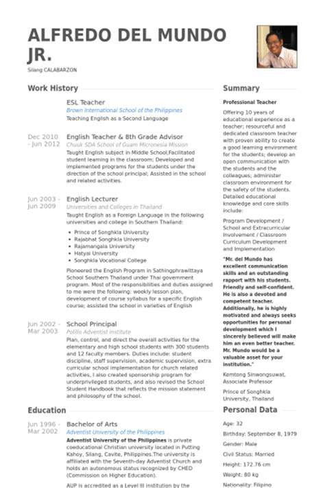 cv  english language cover letter samples