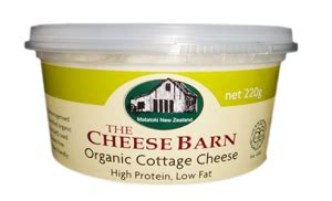 Cottage Cheese Organic Cheese Barn Organic Cottage Cheese 220g Naturally Organic