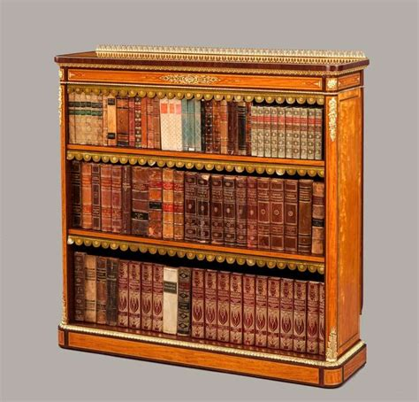 Antique Satinwood Open Bookcase For Sale At 1stdibs