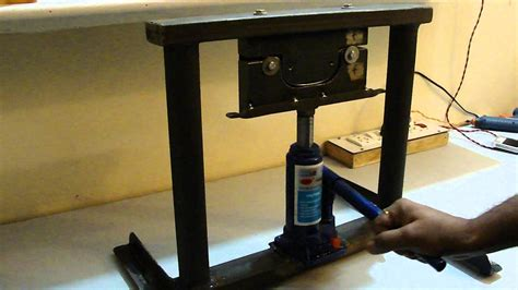 hydraulic sheet bending machine youtube