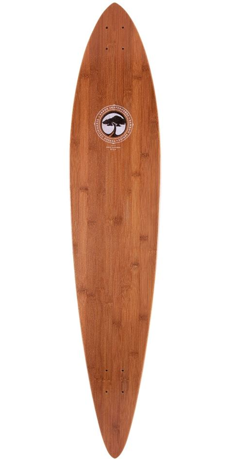 Pintail Longboard Deck Only arbor bamboo timeless pintail longboard skateboard deck