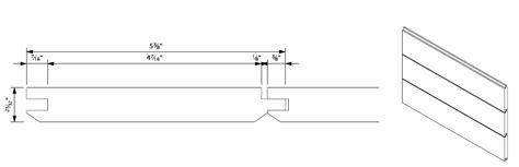 Shiplap Dimensions by Shiplap Siding