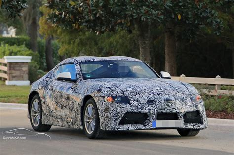 2018/2019 Toyota Supra Prototype Reveals Production Intent