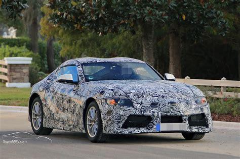 20182019 Toyota Supra Prototype Reveals Production Intent