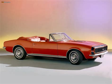 Chevrolet Camaro RS/SS 350 Convertible (12467) 1967 images ...
