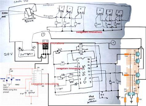 Sinewave Kva Inverter Using Circuit