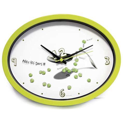 horloge de cuisine horloge cuisine quot ludik quot verte