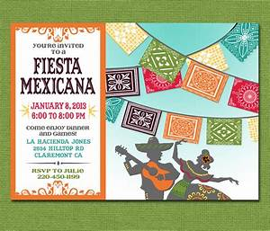 print yourself mexican fiesta invitation custom by With free printable mexican wedding invitations