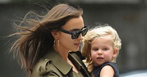 Irina Shayk and Daughter Lea Go for a Walk in NYC: See Photos!