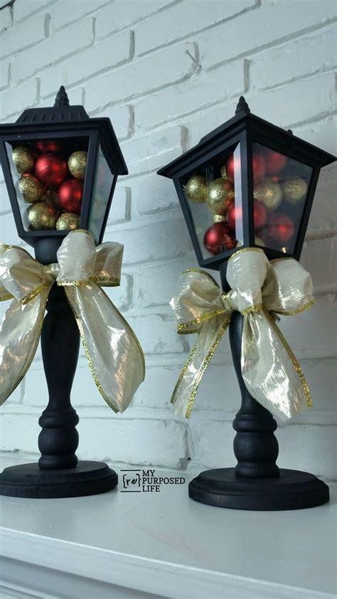 diy christmas lanterns   porch lights