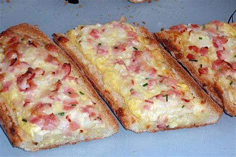 recette de baguettes garnies au bacon