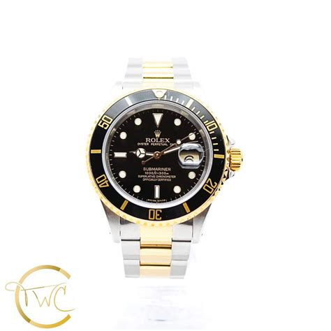 Rolex Submariner Date 40MM Stainless Steel and 18K Yellow ...