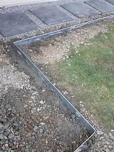 Bordure De Jardin Metal : dalle galet all e gravier pas japonais dalle grise ~ Dailycaller-alerts.com Idées de Décoration