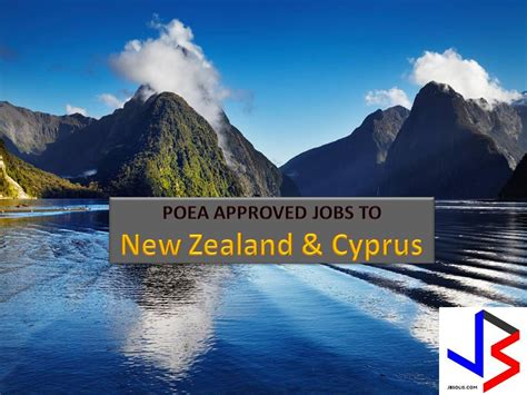 new zealand and cyprus is hiring filipino workers poea approved jobs