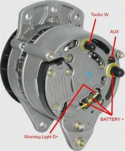 Lucas Alternators With Dual Terminals