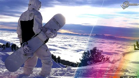 papier peint de bureau animé gratuit snowboard fond d 39 écran hd