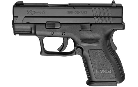 Springfield Xd 40 S&w Subcompact Black Essentials Package