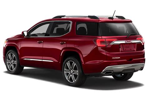 2020 Gmc Acadia Changes by 2020 Gmc Acadia Denali Awd 3 6 Interior Changes Specs