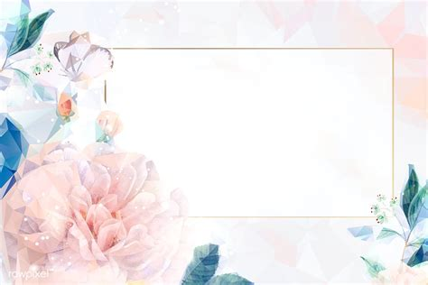 dreamy floral invitation card royalty  stock