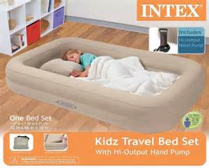intex travel bed child airbed toddler portable air bed new ebay