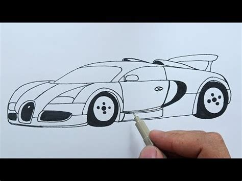 Check out my vehicles playlist for more of your favourite tutorials. How to draw Bugatti Veyron easy step by step - YouTube