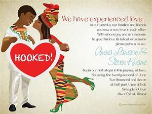 10 african wedding invitations designed perfectly ghana With diy wedding invitations south africa