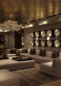 30 luxurious living room design ideas for Pictures of sitting room interior decor