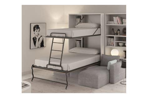 lit superposé avec canapé armoire lit superposé escamotable vertical rabatable