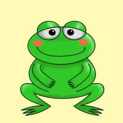 Frog Cartoon Drawings