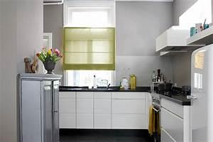 Küche Vorhänge Modern : sichtschutz in der k che vorh nge plissees und rollos ~ Watch28wear.com Haus und Dekorationen