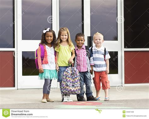 diverse of going to school stock of family growing 34097428