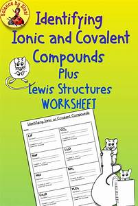 Identifying Ionic And Covalent Compounds